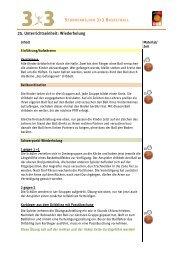 25. Unterrichtseinheit: Wiederholung - Deutscher Basketball Bund ...