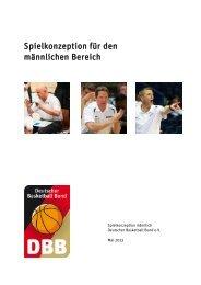 DBB-Spielkonzeption maennlich - Deutscher Basketball Bund ...