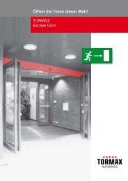 TORMAX Escape Door - Bau Docu Österreich