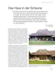 Das Haus in der Scheune - bauen und wohnen