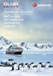 Expeditions-Seereisen - Baumann Cruises