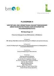 FLOODRISK II - Department für Bautechnik und Naturgefahren