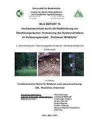 Teileinzugsgebiet Dristenau/Bodenphysikalische Erhebungen