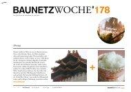 Sehnsucht – der deutsche Beitrag zur Biennale in ... - BauNetz