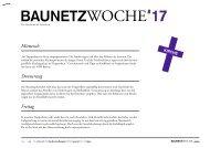 BAUNETZWOCHE#17