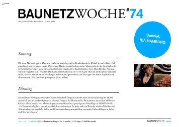 BAUNETZWOCHE#74