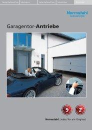 Normstahl Garagentor-Antriebe