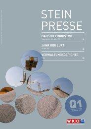 Steinpresse 1.Quartal - Fachverband der Stein- und keramischen ...