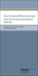 Leitfaden PRTR - Bundesverband Baustoffe - Steine und Erden (BBS)