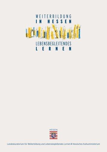 Informationsbroschüre des Landeskuratoriums - Bildungsserver ...