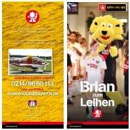 Brian zum Leihen - Bayer 04 Leverkusen