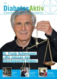 Dr. Frank Achermann - Bayer Diabetes Care Schweiz