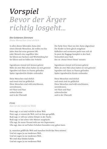 Einleger zum Vorspiel als PDF-Download - Bayerische Staatsoper
