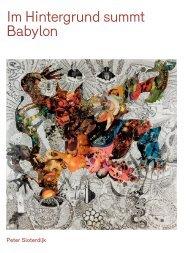 Im Hintergrund summt Babylon - Bayerische Staatsoper