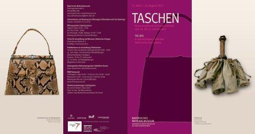 Flyer - Bayerisches Nationalmuseum