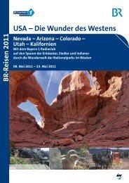 USA – Die Wunder des Westens - Bayern 1 Radioclub