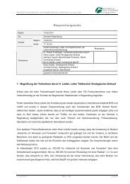 Besprechungsnotiz - Bayerische Staatsforsten