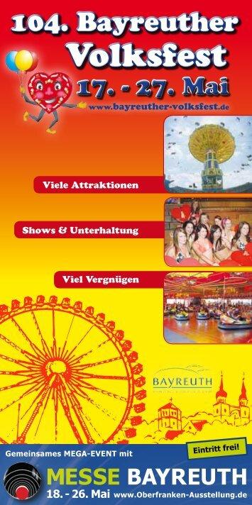 Volksfest - Stadt Bayreuth