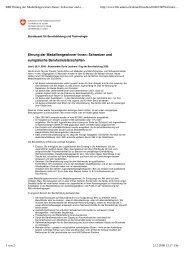BBT Ehrung Der Medaillengewinner-Innen Schweizer ... - Bbaktuell