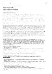 Medienmitteilungen - Medien - Unternehmen - Suva - Bbaktuell