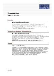 Presseschau - Bbaktuell