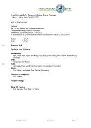 110. FBR BCP 30.11.2011 Seite 1 Noch nicht genehmigtes Protokoll ...