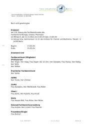 Noch nicht genehmigtes Protokoll der 118. Sitzung des ...