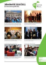 Jahresbericht 2010/2011 - BDKJ Rottenburg-Stuttgart