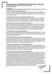 Positionspapier - Gewerbeverband Bayern eV