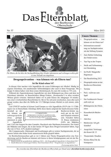 Nr. 57 - März 2013; pdf-Dokument - Beethoven-Schule