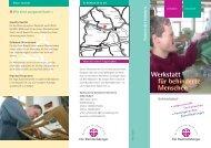 Schmeilsdorf Werkstatt für behinderte Menschen - Die ...