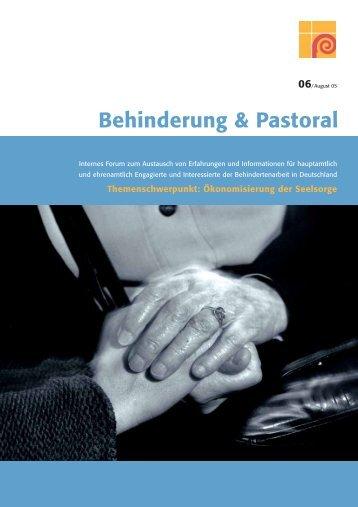 Download PDF - Pastoral für Menschen mit Behinderung