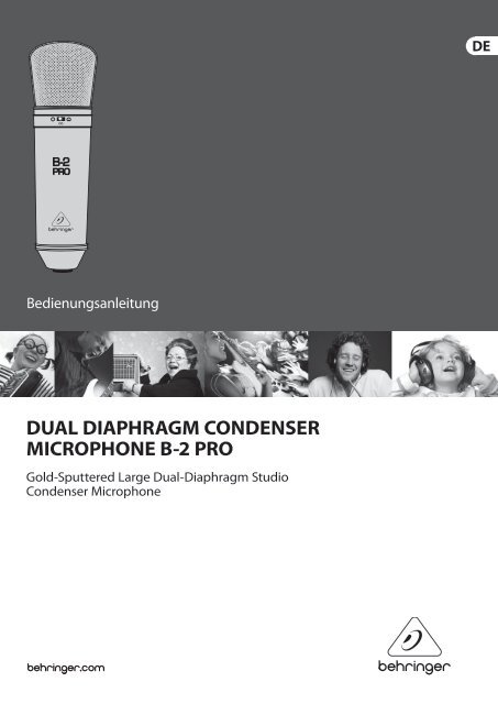 dual diaphragm condenser microphone b-2 pro - Behringer