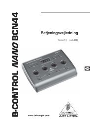 B-CONTROL NANO BCN44 - Behringer