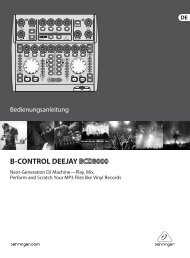 B-CONTROL DEEJAY - Behringer