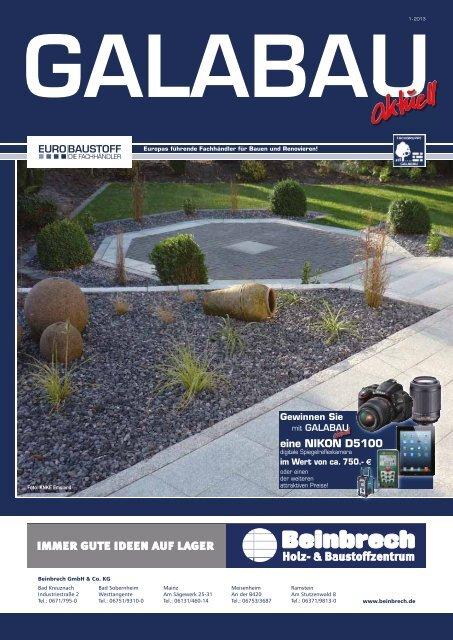 Galabau-Aktuell Ausgabe 1/2013 - Beinbrech Holz und ...