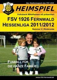 Volksbank Mittelhessen eg präsentiert - FSV 1926 Fernwald