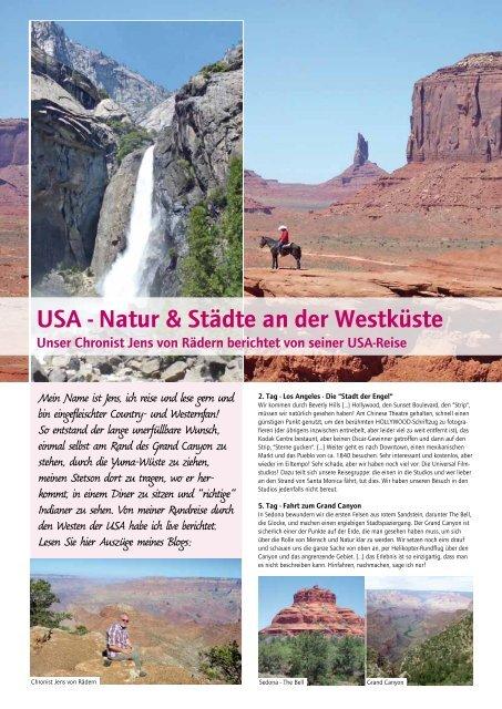 USA - Natur & Städte an der Westküste - Berge & Meer