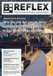 BF.REFLEX Ausgabe 03/13 downloaden - Bergmann & Franz