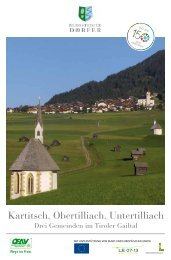 Kartitsch, Obertilliach, Untertilliach - Drei ... - Bergsteigerdörfer
