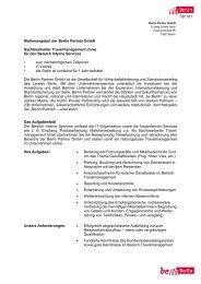 Lesen Sie mehr - Berlin Partner GmbH