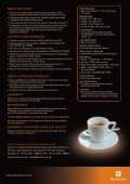 Designed for First and Business Class galleys and ... - Nespresso - Page 2