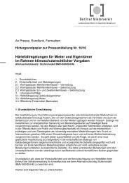 Berliner Mieterverein Härtefallregelungen für Mieter und Eigentümer ...