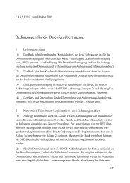 Bedingungen für Datenfernübertragung - Berliner Volksbank