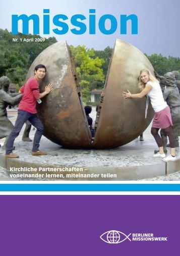 pdf mission_01_09 - Berliner Missionswerk