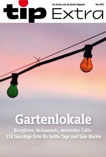Gartenlokale - Berliner Zeitung