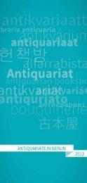 Antiquariatsverzeichnis_2013 (PDF / 1.12 MB) - Börsenverein des ...