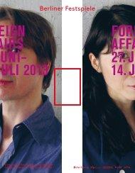 Abendprogramm Heine Avdal, Yukiko Shinozaki - Berliner Festspiele