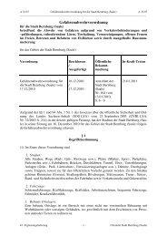 Gefahrenabwehrverordnung - Bernburg