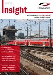 Geschäftsbereich Transportation - Berner & Mattner